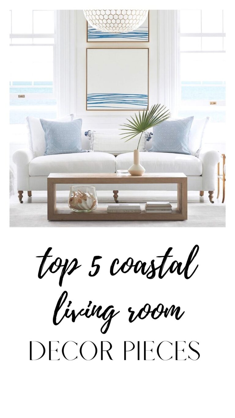 5 Gorg Coastal Decor Items to Help you Conquer that Coastal Look
