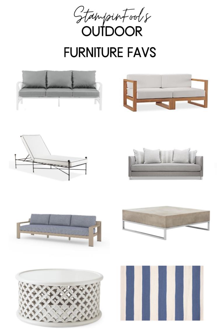 Outdoor Patio Furniture Favorite Pieces