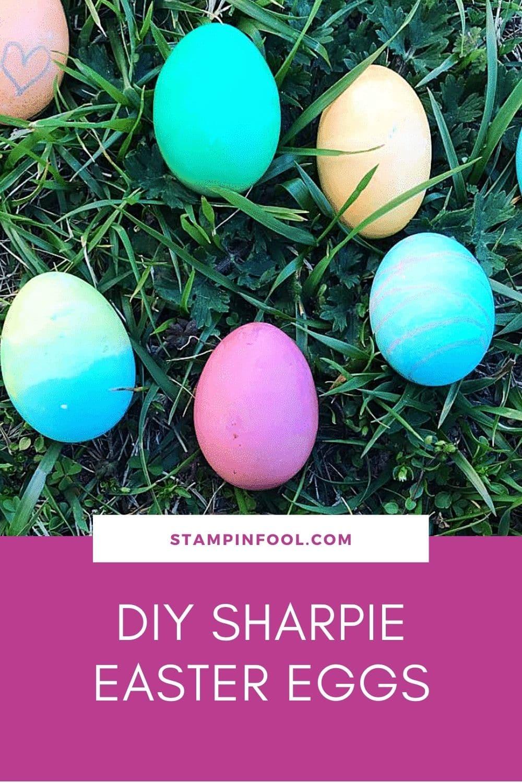 DIY Sharpie Easter Eggs: Quick Easter Crafts for Kids