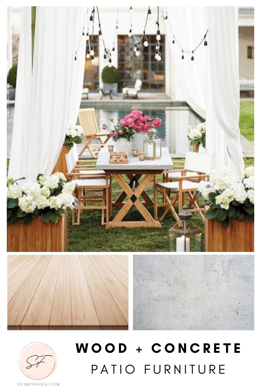 Match Outdoor Furniture Materials