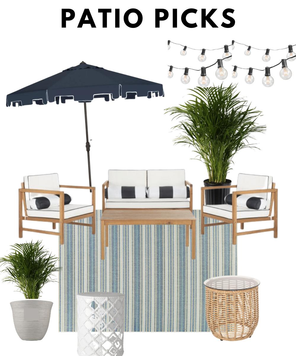 Top Outdoor Picks from Walmart for Patio