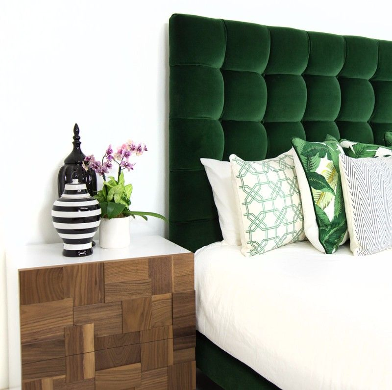 Outdated Decorating Trends: Tufted Headboards