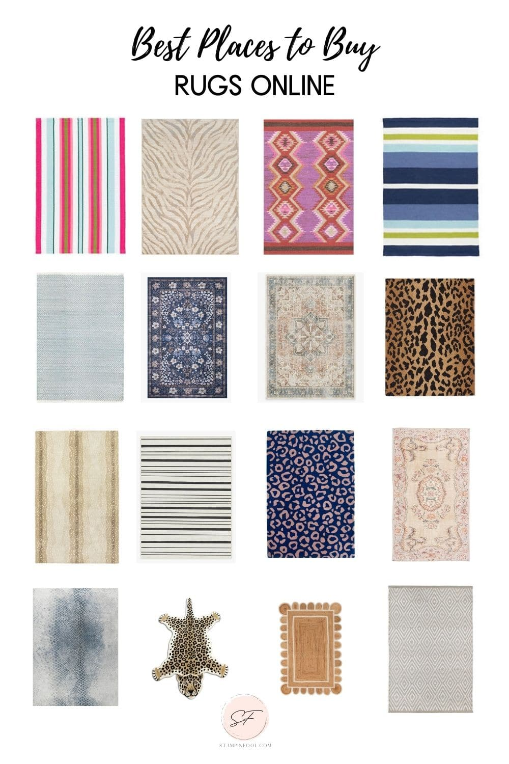 10+ AMAZING SOURCES FOR BUYING AFFORDABLE AREA RUGS ONLINE RIGHT NOW