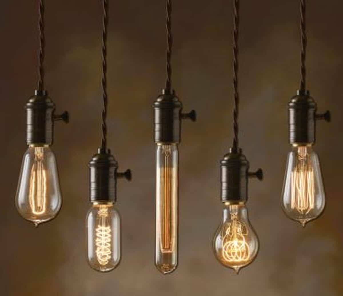 Outdated Decorating Trends: Edison Bulbs
