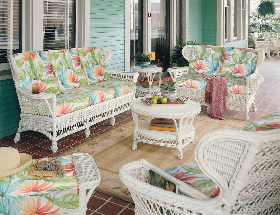 Outdated Decorating Trends: Wicker Everywhere