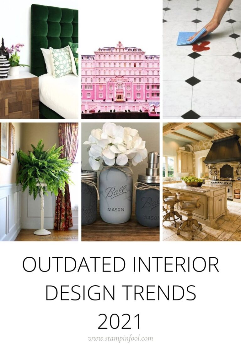 OUTDATED DECORATING TRENDS WE HOPE NEVER COME BACK (2021)