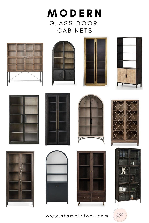 The Best, Gorgeous Metal Glass Door Display Cabinets in 2021