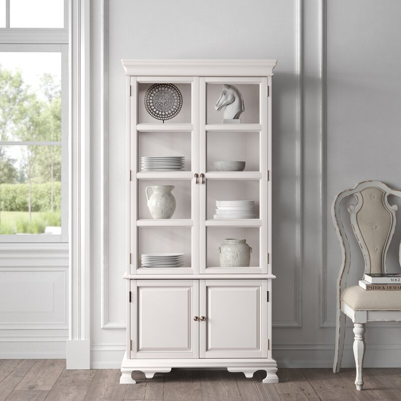 Gorgeous Glass Door Display Cabinets from Wayfair in 2021 from the Kelly Clarkson Line
