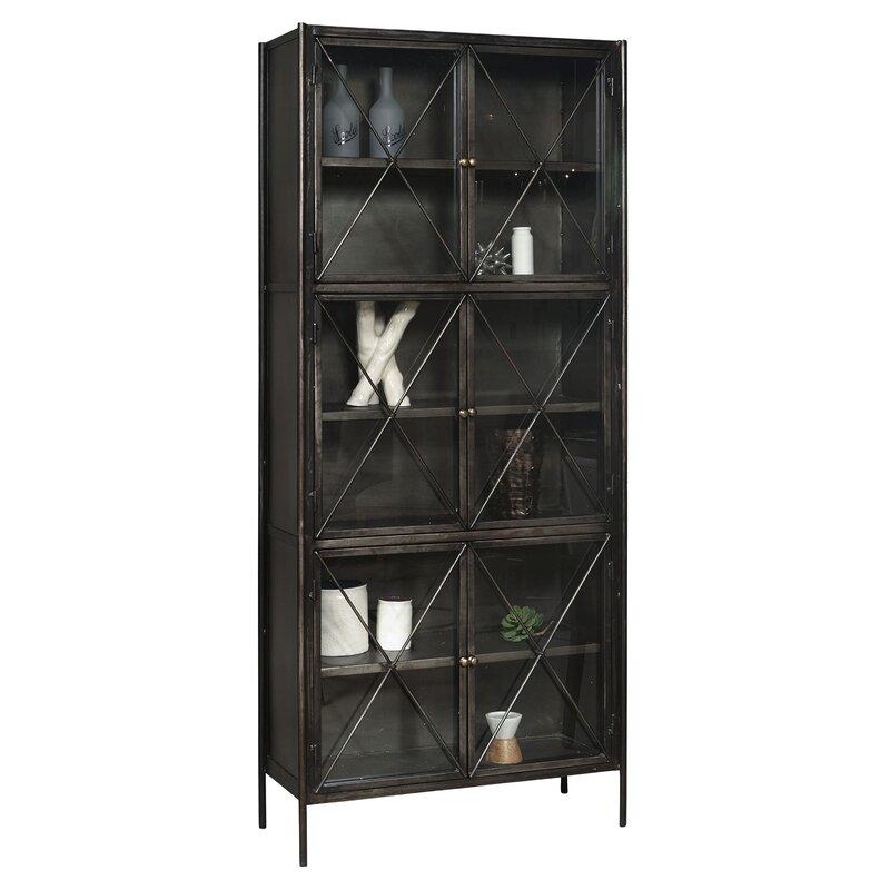 Gorgeous Metal Glass Door Display Cabinets from Wayfair in 2021