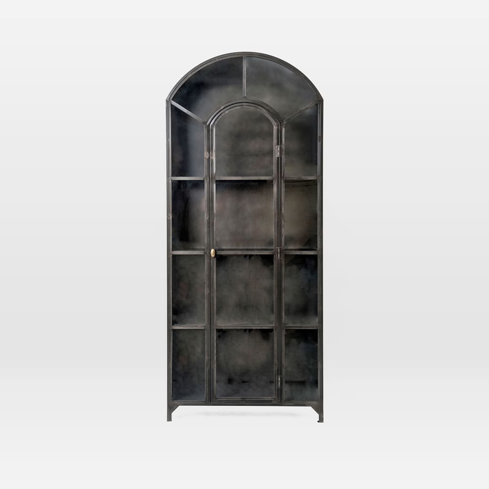 Gorgeous Arched Glass Door Display Cabinets in 2021 from West Elm