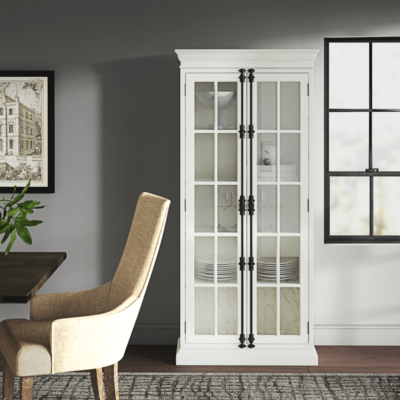 Gorgeous Glass Door Display Cabinets from Wayfair in 2021