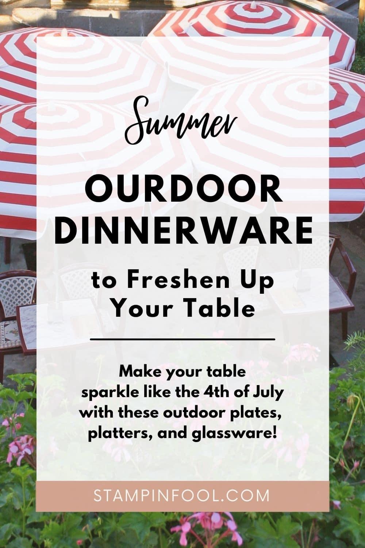Best Outdoor Dinnerware 2021