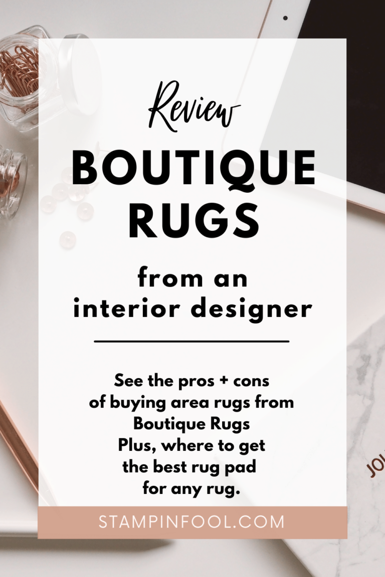 Boutique Rugs Dibble Area Rug Review: Everything you need to know about Boutique Rugs