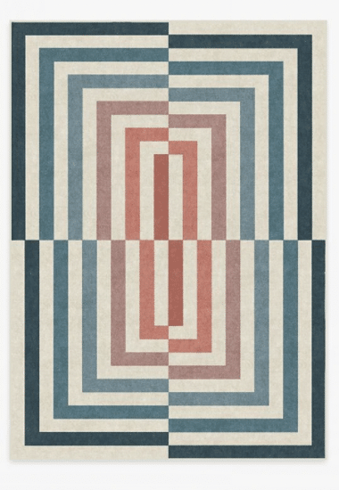 Easy to clean rugs- MAXIMALIST INSPIRATION: RUGGABLE X JONATHAN ADLER