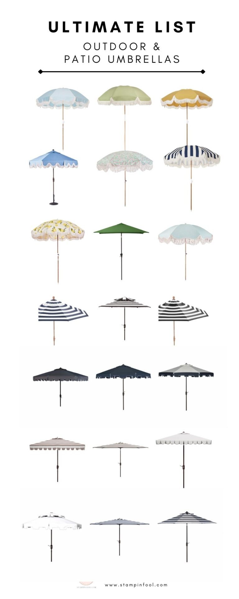 Best Outdoor Patio Umbrellas 2021