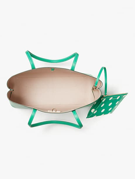 Kate Spade All Day Tote in Green on Sale today!