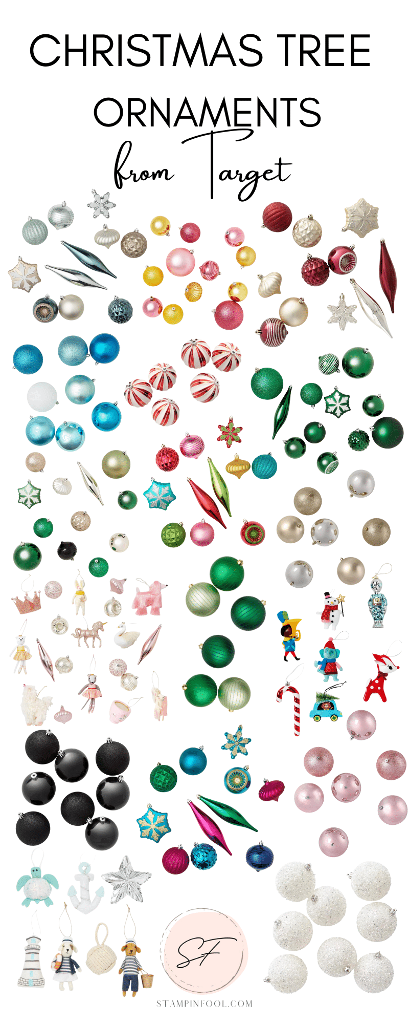 Best Christmas Ornament Sets from Target for your Christmas tree in 2021
