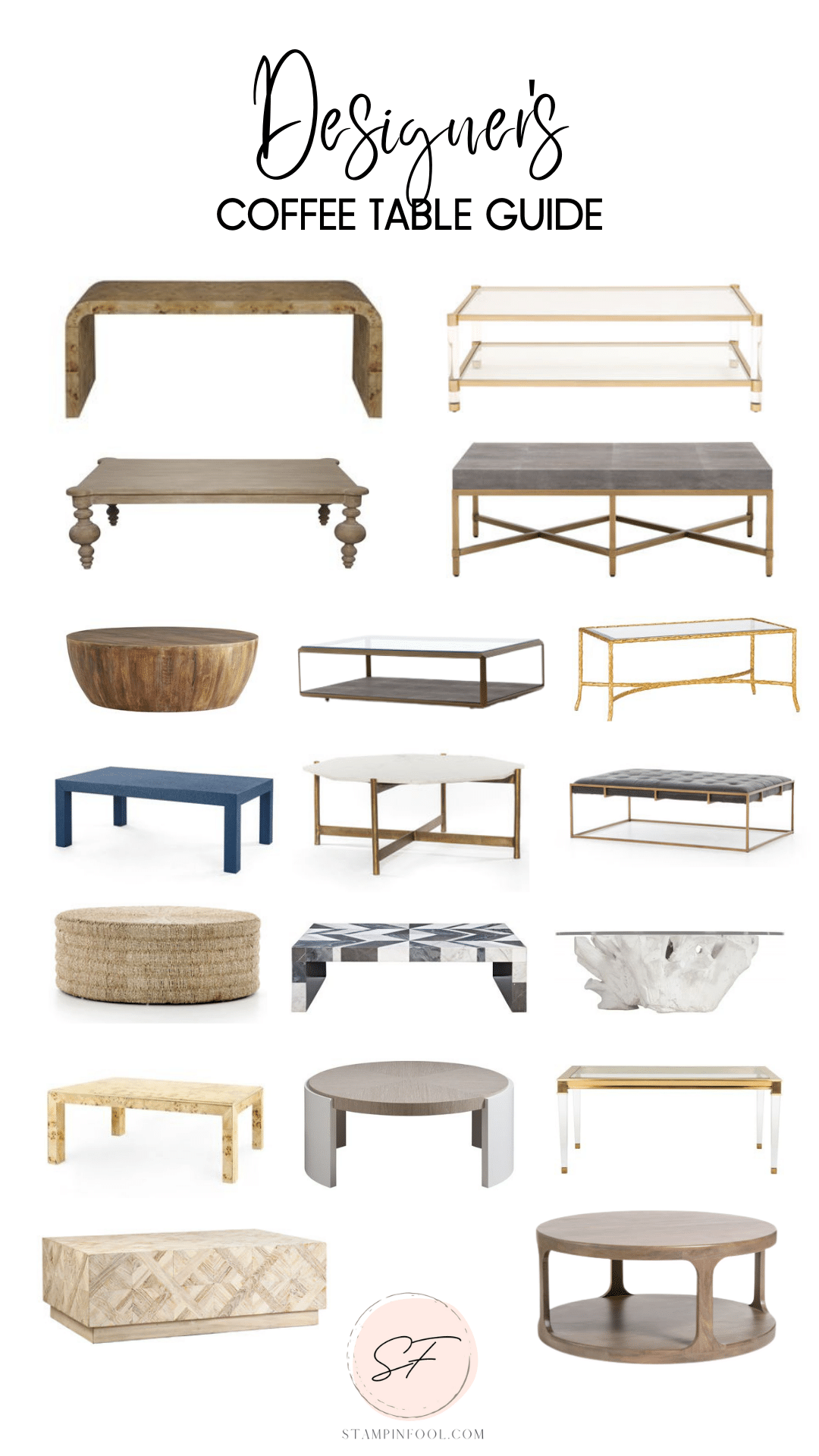 Ultimate Guide to Buying Designer Coffee Tables for Your Living Room