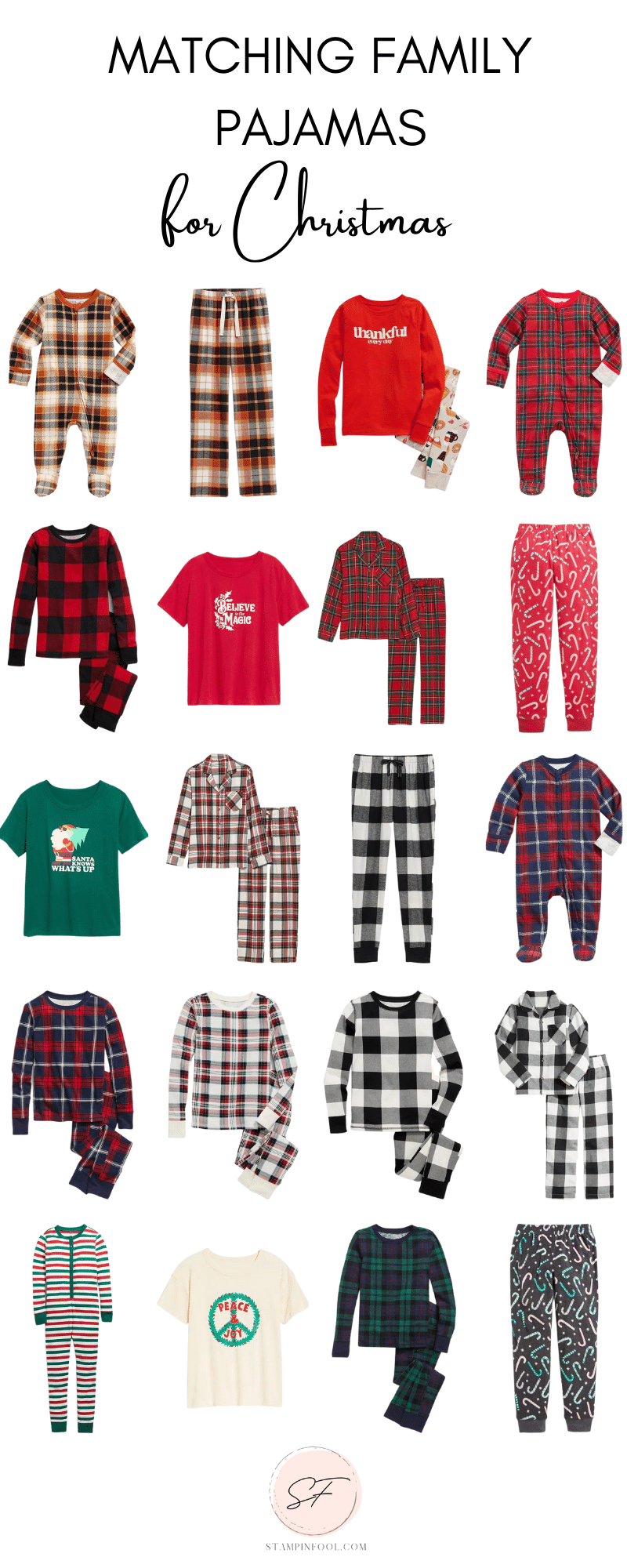 BEST CHRISTMAS MATCHING PAJAMAS FOR YOUR ENTIRE FAMILY - EVEN THE DOG