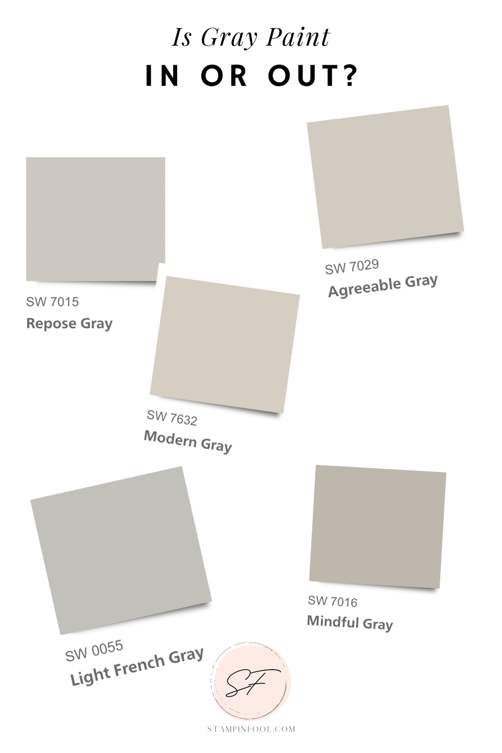 IS GRAY PAINT IN OR OUT? HERE'S WHAT 200 HOME DECOR ENTHUSIASTS HAVE TO SAY